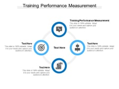 Training Performance Measurement Ppt PowerPoint Presentation Slides Example Introduction Cpb