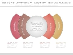 Training Plan Development Ppt Diagram Ppt Examples Professional