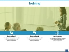Training Ppt PowerPoint Presentation Model Example
