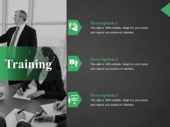 Training Ppt PowerPoint Presentation Model Master Slide