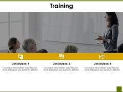 Training Ppt PowerPoint Presentation Show Icon