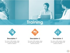 Training Ppt PowerPoint Presentation Show Model