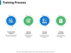 Training Process Ppt PowerPoint Presentation Infographics Samples