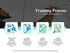 Training Process Ppt PowerPoint Presentation Portfolio Ideas