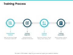 Training Process Ppt PowerPoint Presentation Slides Vector