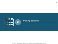 Training Schedule Calender Ppt PowerPoint Presentation Ideas Portrait