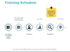 Training Schedule Ppt PowerPoint Presentation Layouts Design Inspiration