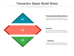 Transaction Based Model Stress Ppt PowerPoint Presentation File Deck Cpb Pdf