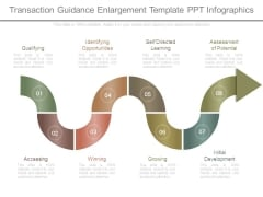Transaction Guidance Enlargement Template Ppt Infographics
