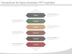 Transactional Six Sigma Illustration Ppt Inspiration