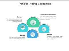Transfer Pricing Economics Ppt PowerPoint Presentation Show Format Ideas Cpb