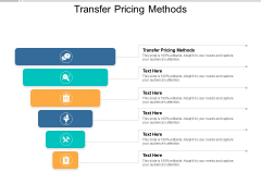 Transfer Pricing Methods Ppt PowerPoint Presentation Outline Summary Cpb Pdf