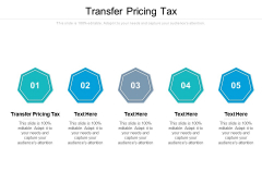 Transfer Pricing Tax Ppt PowerPoint Presentation File Layout Ideas Cpb Pdf