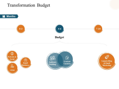 Transformation Budget Ppt PowerPoint Presentation Summary Graphics Pictures