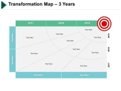 Transformation Map 3 Years Business Ppt PowerPoint Presentation Infographics Display