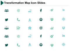 Transformation Map Icon Slides Ppt PowerPoint Presentation Model Information