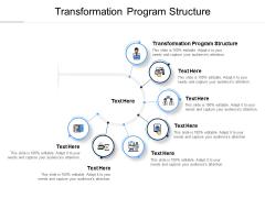 Transformation Program Structure Ppt PowerPoint Presentation Icon Background Cpb Pdf