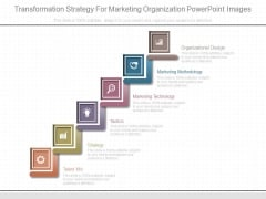 Transformation Strategy For Marketing Organization Powerpoint Images