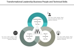 Transformational Leadership Business People And Technical Skills Ppt PowerPoint Presentation Slides Elements