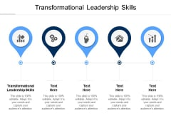 Transformational Leadership Skills Ppt PowerPoint Presentation Summary Show Cpb Pdf
