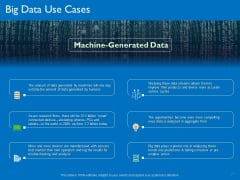 Transforming Big Data Analytics To Knowledge Big Data Use Cases Ppt Ideas Infographics PDF