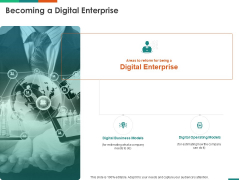 Transforming Enterprise Digitally Becoming A Digital Enterprise Ppt Icon Aids PDF