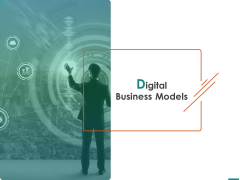 Transforming Enterprise Digitally Digital Business Models Ppt Icon Templates PDF