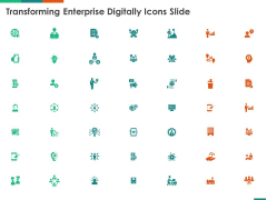 Transforming Enterprise Digitally Icons Slide Ppt Outline Template PDF