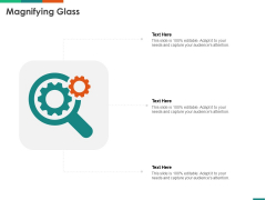 Transforming Enterprise Digitally Magnifying Glass Ppt Ideas Example File PDF