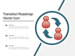 Transition Roadmap Vector Icon Ppt PowerPoint Presentation File Guidelines PDF