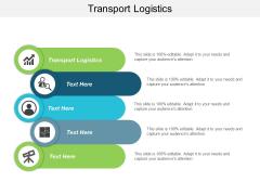 Transport Logistics Ppt Powerpoint Presentation Portfolio Pictures Cpb