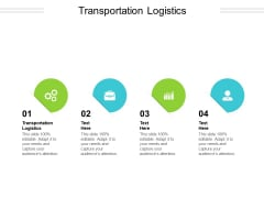 Transportation Logistics Ppt PowerPoint Presentation Model Shapes Cpb Pdf