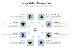 Transportation Management Ppt PowerPoint Presentation Icon Example Introduction Cpb Pdf