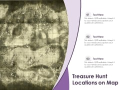 Treasure Hunt Locations On Map Ppt PowerPoint Presentation Inspiration Introduction PDF