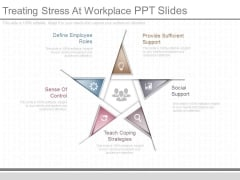 Treating Stress At Workplace Ppt Slides