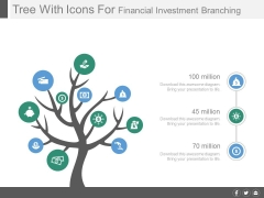 Tree Diagram For Financial Investment Planning Powerpoint Slides