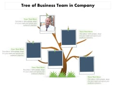 Tree Of Business Team In Company Ppt PowerPoint Presentation Icon Background Images PDF