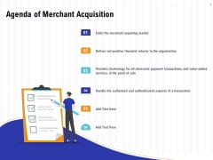 Trends And Emerging Areas In Merchant Acquiring Industry Agenda Of Merchant Acquisition Themes PDF