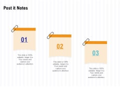 Trends And Emerging Areas In Merchant Acquiring Industry Post It Notes Ppt Portfolio Summary PDF