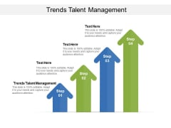 Trends Talent Management Ppt PowerPoint Presentation Professional Show Cpb