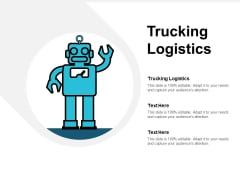 Trucking Logistics Ppt PowerPoint Presentation File Clipart