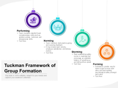 Tuckman Framework Of Group Formation Ppt PowerPoint Presentation Styles Professional PDF