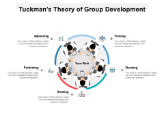 Tuckmans Theory Of Group Development Ppt PowerPoint Presentation Gallery Infographic Template