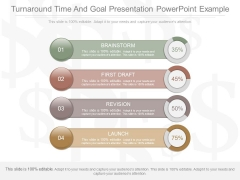 Turnaround Time And Goal Presentation Powerpoint Example