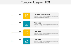 Turnover Analysis HRM Ppt PowerPoint Presentation Professional Layout Cpb