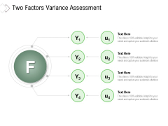 Two Factors Variance Assessment Ppt PowerPoint Presentation Gallery Guidelines PDF