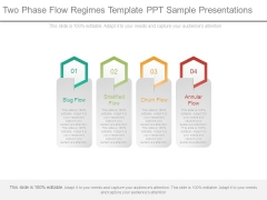 Two Phase Flow Regimes Template Ppt Sample Presentations