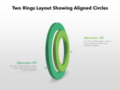 Two Rings Layout Showing Aligned Circles Ppt PowerPoint Presentation Infographics Background Images PDF