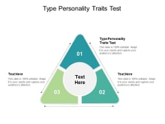 Type Personality Traits Test Ppt PowerPoint Presentation Portfolio Designs Cpb