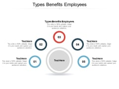 Types Benefits Employees Ppt PowerPoint Presentation Infographic Template Structure